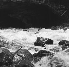 2016-05 117 (kccornell) Tags: 120 film river hasselblad 500c cave wyoming sinks lander