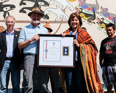 Tofino, Ahousaht receive Medal of Good Citizenship (BC Gov Photos) Tags: protocol premierchristyclark ahousaht economicdevelopment johnrustad