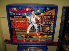 Disco Fever (scottamus) Tags: game art table design artwork graphics williams arcade machine pinball 1979 discofever backglass translite backbox