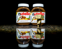 Day 210/366 July 28, 2016 (Wells Photos) Tags: project366 danbo cardbo nutella