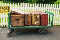 Luggage (Icy Sedgwick) Tags: station luggage beamish 1855mm countydurham northeastengland beamishopenairmuseum canon400d
