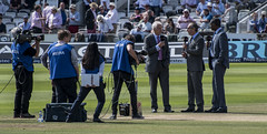 The Sky Commentary Team (jzakariya) Tags: pakistan england sky test david mike sports last michael holding nikon day play 4th july first lloyd match gower vs nikkor bumble 70300mm lords d500 2016 jawad zakariya