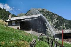 Mund VS - Irrigation System (Kecko) Tags: 2016 kecko switzerland swiss suisse svizzera schweiz wallis valais vs mund brig naters roosse wasser sprinkler water irrigation bewsserung europe swissphoto geotagged geo:lon=7938900 geo:lat=46319860