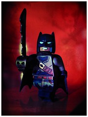 Captain Leatherwing (LegoKlyph) Tags: lego batman dccomics dc leatherwing captain pirate sword