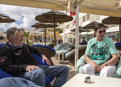 Family (Hans van der Boom) Tags: europe portugal algarve vacation holiday albufeira sijbrand janny brother people pt
