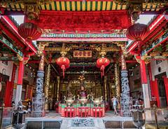 Chinese Temple, Yangon (MarenViol) Tags: yangon myanmar burma asia lumixg7 urban travel microfourthirds