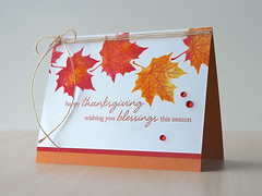 Thanksgiving Grateful Leaves (paperpicnic (Jayne)) Tags: heroarts card thanksgiving leaves sb135 di315 cl987 copper