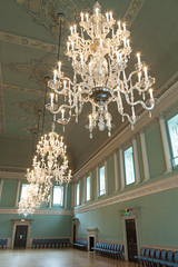 Ball Room   Assembly Rooms   Bath-37 (Paul Dykes) Tags: bath somerset england uk georgian assemblyrooms bathassemblyrooms johnwoodtheyounger eighteenthcentury 18thcentury chandelier