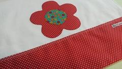 Trio de panos de prato em tons de vermelho  cachorrinho  galinha  flor  #atelipatcoutinho #triodepanosdeprato #aplicao #craft  (PAT COUTINHO) Tags: triodepanosdeprato craft aplicao atelipatcoutinho