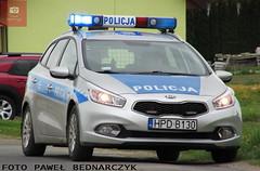 D130 - Kia Cee'd SW II - KP Beyce (pawelbednarczyk) Tags: d013 daewoo korando d159 fiat ducato d140 d172 skoda octavia d123 opel astra ii d193 d190 kia sportage d152 corsa d176 aro 245 d173 ford transit d189 fso polonez beyce lubelskie policja radiowz radiowozy komisariat policji hpd