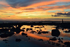 #wirral #UK #england #Westkirby #sunset #reflections (kirsty24@rocketmail.com) Tags: reflections westkirby uk sunset england wirral