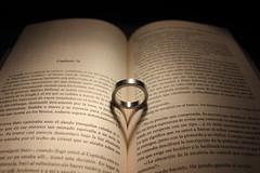 Novela_rosa_2 (alvaro.foto) Tags: libro corazon anillo sombra