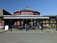 Llanfairpwllgwyngyllgogerychwyrndrobwllllantysiliogogogoch . (steven.barker57) Tags: llanfairpwllgwyngyllgogerychwyrndrobwllllantysiliogogogoch llanfair longest railway station name uk anglesey wales historic sun sunny