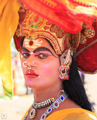 Identity... (Charlie_Joe) Tags: india incredibleindia indiatourism aadivelli festival transgender hijra identity tamil culture celebration makeup friday gender transsexual eunuch person human portrait candid street