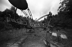 01 (rtw1r) Tags: rtwlr urbanexploration urbex  russia abandoned ruins decay carousel abandonedcarousel childrens camp darkness darkplace dark analogphotography filmphotography film 35mm blackandwhite bw tasma d76