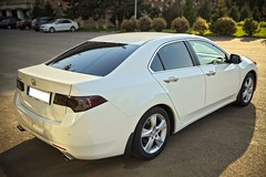 IMG_5600_8 (Killer_533) Tags: honda accord executive 20 petrol white 2010 euro dual chromed exhaust led lights car leather