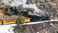 DSNG473_2009-12-26 11-45-51bfa_RockwoodCO (br64848) Tags: narrowgauge steam dsng durango colorado snow rockwood highline