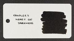 Noodler's Heart of Darkness - Word Card