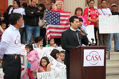 CASA Services Fair and Immigration Rally