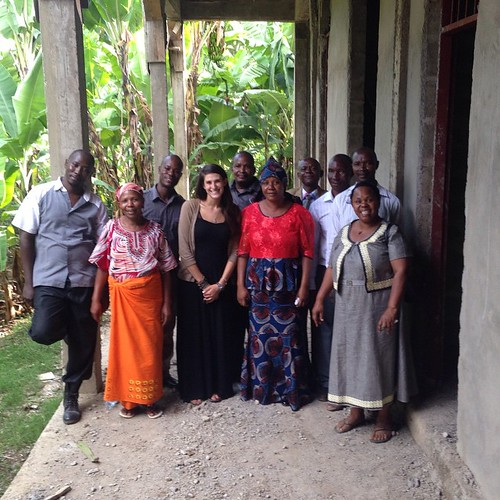 "Mandy with the Tuleeni Board of Directors at the new center. Paving the path together for Tuleeni's bright future! #sponserachild #jointhemovement #bethechange • <a style=""font-size:0.8em;"" href=""http://www.flickr.com/photos/59879797@N06/17092751332/"" target=""_blank"">View on Flickr</a>"