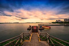 sunset@pandan reservoir (Derek Fang) Tags: sunset singapore 1424 d4s