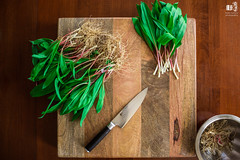 rams cutting board (markmartucciphoto) Tags: new wild recipe video mark nj ramps clean pizza where jersey how pickle find leeks martucci markmartucciphotography