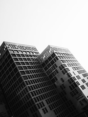 Ministry of finance cairo , Egypt (el_2ady) Tags: sky blackandwhite white black tower architecture architect archmore