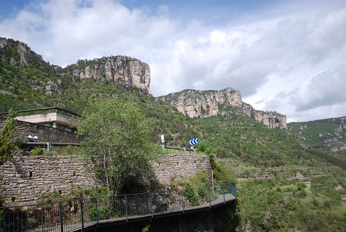 The Vulture viewing platforms & visitor centre.