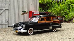 1949 Oldsmobile Futuramic 88 Station Wagon (JCarnutz) Tags: 88 1949 oldsmobile diecast 124scale danburymint futuramic