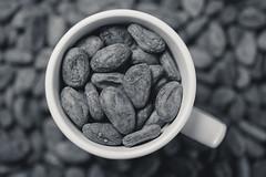 Drinking beans (Naveen Narain) Tags: light 2 food dark photo beans nikon raw mood flash vegetarian mug d750 setup 28 60mm mok softbox f28 bounce biological fit puur superfood cacao bonen afd biologisch honl traveller8
