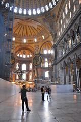 Hagia Sofia (Linda Pavlovic) Tags: travel church museum turkey sofia istanbul musee hagiasofia hagia