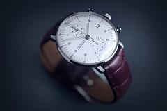 Junghans Max Bill Chronoscope (watchulookingat) Tags: junghans junghanswatch chrono chronograph