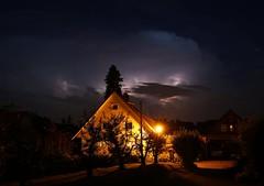 Wetterleuchten (Norbert Kaiser) Tags: nacht wolken blitz bodensee gewitter wetterleuchten earthnight nightearth gewitterhimmel bechtersweiler