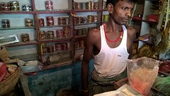 Indian shopkeeper (ShaluSharmaBihar) Tags: shop shopkeeper shopping shops shoppers