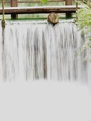 Waterfall (Battistu) Tags: landscape riviere river fall speed france meuse wood waterfall water barrage cascade eau