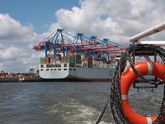 P1060073 (lychee_vanilla) Tags: port harbour hamburg hh hafen elbe hanse hansestadt maritim
