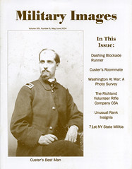 Military Images magazine cover, May/June 2004 (militaryimages) Tags: history infantry mi america magazine soldier photography rebel us marine uniform photographer unitedstates military union navy archive confederate worldwari civilwar american weapon tintype ambrotype artillery stereoview cartedevisite sailor ruby veteran roach daguerreotype yankee cavalry neville spanishamericanwar albumen mexicanwar coddington backissue citizensoldier indianwar heavyartillery matcher findingaid militaryimages hardplate