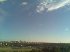 Sydney 2016 Jul 13 07:58 (ccrc_weather) Tags: ccrcweather weatherstation aws unsw kensington sydney australia automatic outdoor sky 2016 jul earlymorning