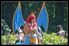 Castlefest 2016 (gill4kleuren - 16 ml views) Tags: castle fest lisse keukenhof nederland muziek music people girls fantasy colors costums celtic medieval dancing mgic science fiction boys gothic event photo border 2016 augustus 2013 magic
