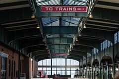 Old Railroad Station (wezlo) Tags: liberty newyork libertystatepark