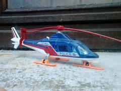 Majorette brocante Villeneuve. (ced12110) Tags: a109 majorette diecast helicoptre augusta police