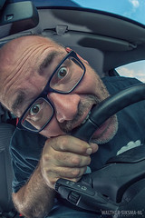WS20160713_5051 Week 29/52 Argh, traffic jams! (Walther Siksma) Tags: 2016 selfie 52weeksthe2016edition 52wsp 52pics project 52 zelfportret selfportrait self me ik car traffic trafficjam file wheel driving