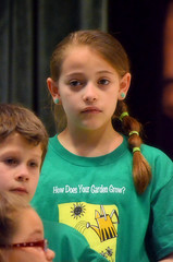 2016-04-07 (88) Fred D ES 2nd grade show (How Does Your Garden Grow) evening (JLeeFleenor) Tags: photos photography virginia va leesburg loudouncounty frederickdouglass elementaryschool twins inside indoors youthactivities youth skit
