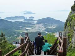 c16-Tongyeong-Mont Mireuksan (9) (jbeaulieu) Tags: montagne coree tongyeong mireuksan