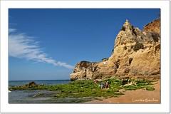 Playa de El Algarve (Lourdes S.C.) Tags: portugal playa cielo nubes acantilados oceanoatlntico elalgarve