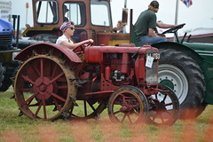 """Move to the Country, get away from it all"" they said! (mitchell_dawn) Tags: tractor classic vintage thirties traffic farming international agriculture 1934 farmmachinery landgirl womenslandarmy birdingburycountryshow"