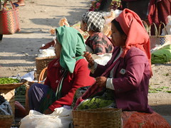 Kalaw (simo2582) Tags: people asian asia burmese shanstate shan birma birmania burma myanmar market kalaw human trade typical hilltribes tribes mountain hillstation village countryside travel reise blick unterwegs world traditional 5daysmarket groceries street women sitting