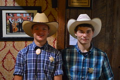 Texas Rangers (radargeek) Tags: amarillo texas tx thebigtexan steak ranch cowboy cowboyhat portrait