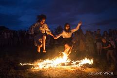 Kiev - Ivan Cupala Festival (Rolandito.) Tags:  kiew kiev ukraine  ivan ivana cupala festival fire jump jumping