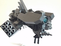 Articulated launchers ([TGS]) Tags: lego microscale microspace frigate transformer mecha